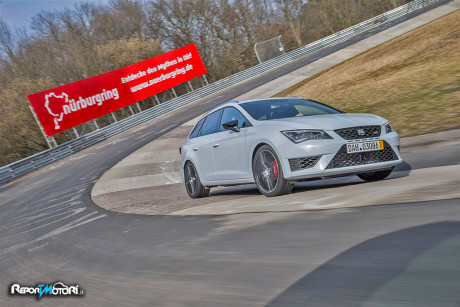 Record al Nurburgring per la Seat Leon ST CUPRA