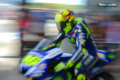 Valentino Rossi - Test Jerez 2015