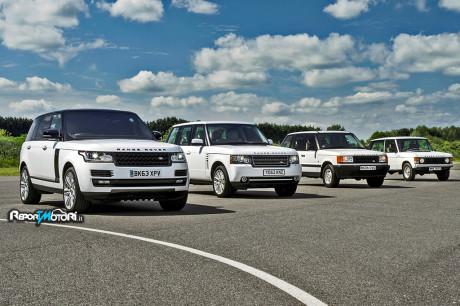 La lunga storia Range Rover