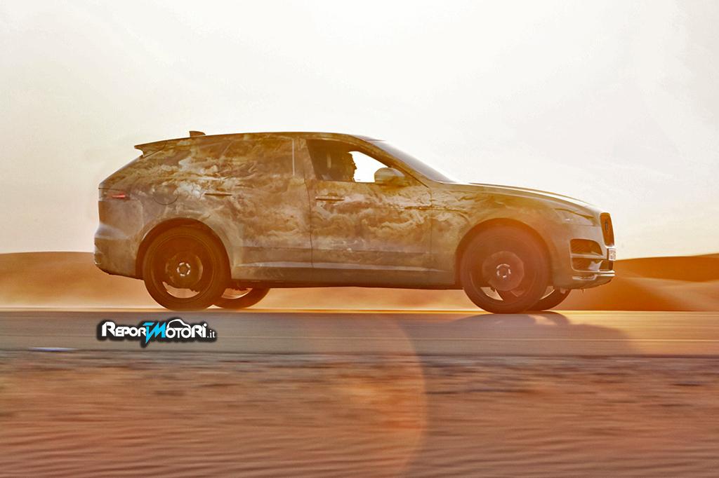 Una Jaguar F-Pace inarrestabile !