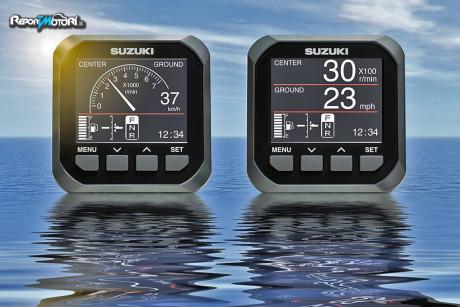 Nuova strumentazione LCD Suzuki