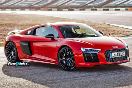Nuova Audi R8 V10 Plus