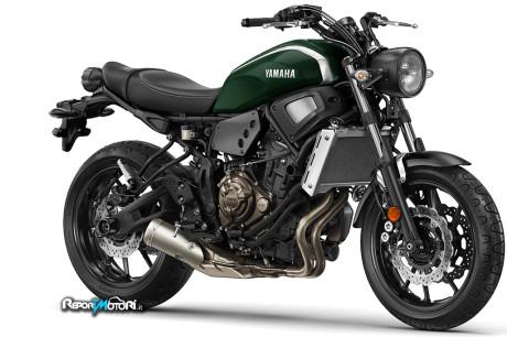 Nuova Yamaha XSR700