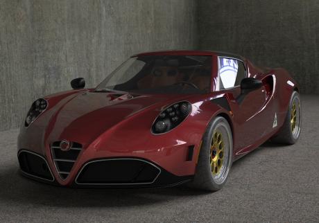 Romeo Ferraris - Alfa Romeo 4C