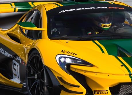 Bruno Senna - McLaren P1 GTR