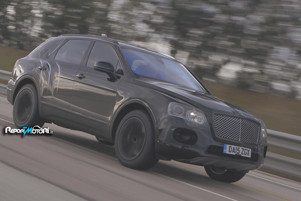 Bentley Bentayga: un SUV da oltre 300 km/