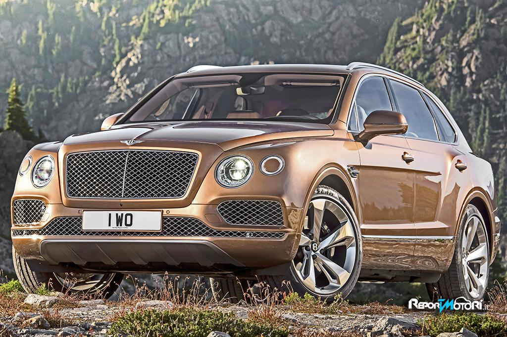 Bentley Bentayga: un SUV da primato !