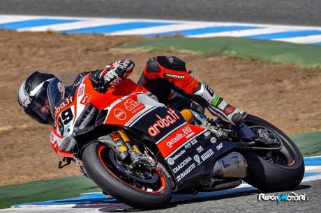 Luca Scassa - SBK - Test Jerez 2015
