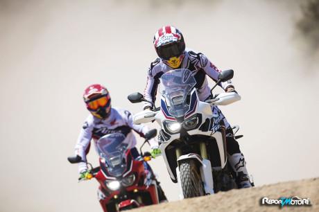 Marquez & Barreda - Honda CRF1000L Africa Twin