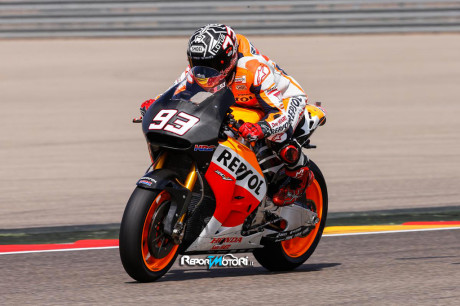 Marquez - Test Michelin