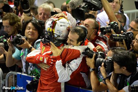 Sebastian Vettel - GP Singapore 2015