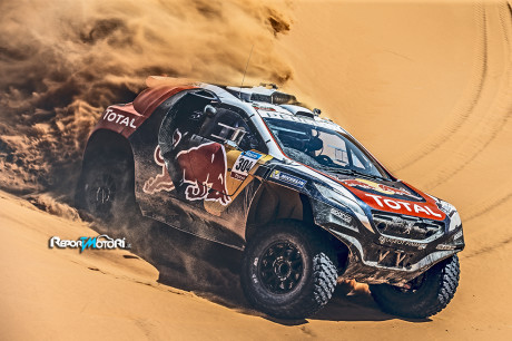 Sébastien Loeb nella Dakar con Peugeot