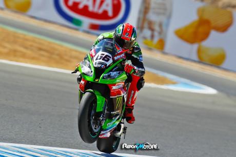 Tom Sykes - WSBK - Superpole Jerez 2015