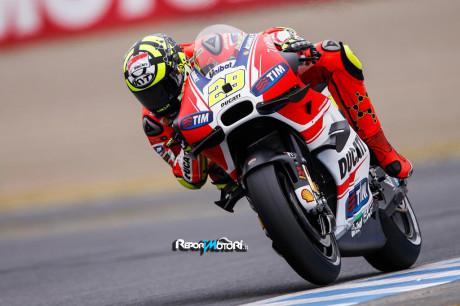 Andrea Iannone - Ducati Desmosedici GP15 - Motegi