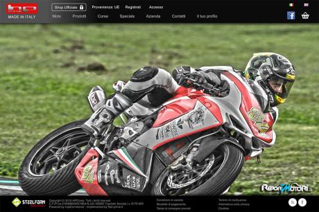 Nuovo sito Hp Corse
