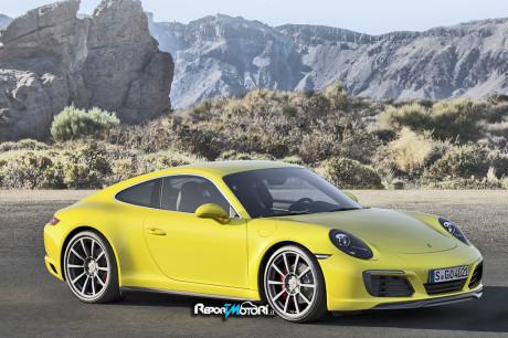 Nuova Porsche 911 Carrera 4S