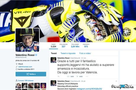 Valentino Rossi - Twitter