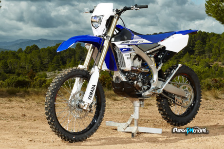 Nuova Yamaha WR450F