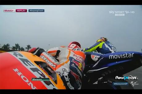 Duello Rossi vs Marquez - Malesia 2015