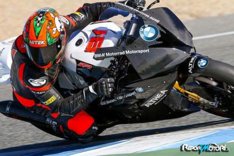 Althea Racing - Jordi Torres - Test Jerez