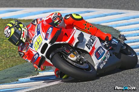 Andrea Iannone - MotoGP Test Jerez 2015