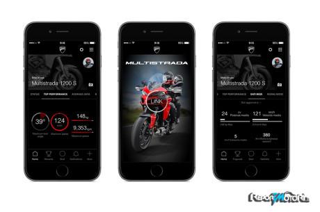 App Multistrada Link