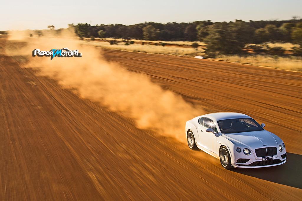 Una Continental GT Speed da 331 km/h !