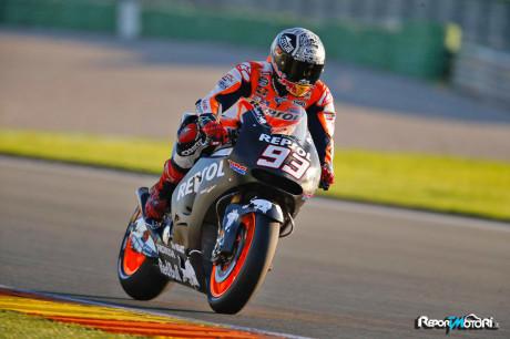 Marc Marquez Test Valencia