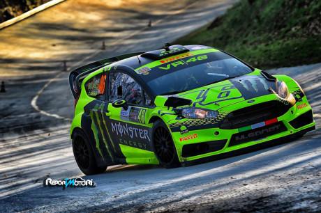 Valentino Rossi vince il Rally di Monza 2015
