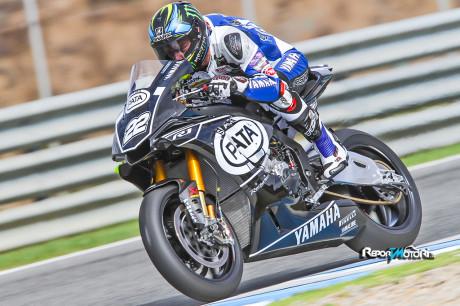 Alex Lowes, Yamaha Racing Team, Jerez Test - YZF-R1 SBK