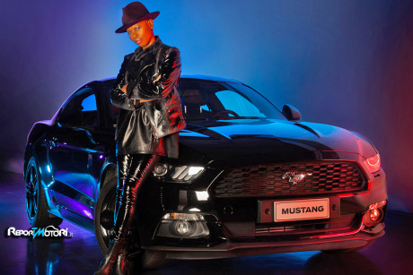 Skin con Ford Mustang