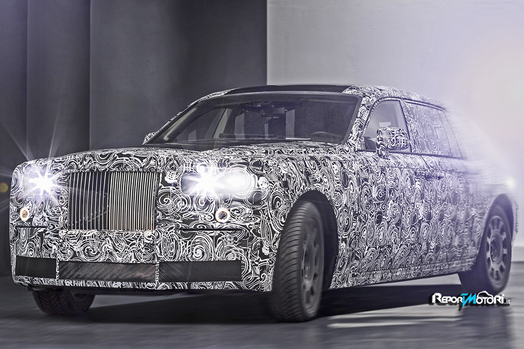 In Rolls Royce arriva lo space frame