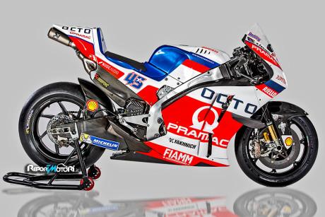 Team Octo Pramac Yakhnich - Ducati Desmosedici GP16