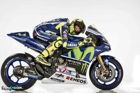 Valentino Rossi - Yamaha YZR-M1 2016