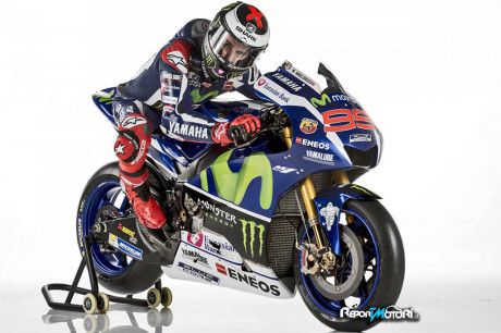 Jorge Lorenzo - Yamaha YZR-M1 2016