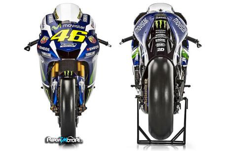 Yamaha YZR-M1 - Valentino Rossi