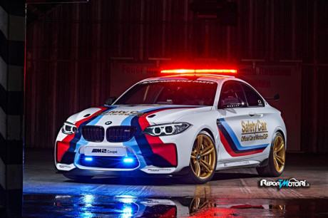 BMW M2 Coupé Safety Car MotoGP 2016
