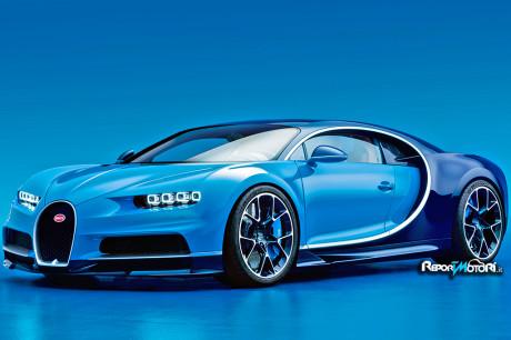 Novità auto: Addio Veyron, benvenuta Bugatti Chiron