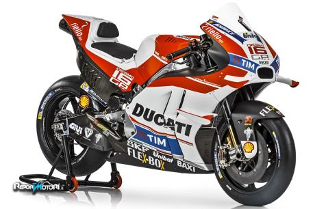 Nuova Ducati Desmosedici GP