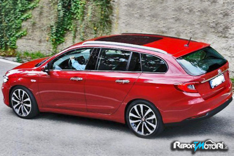 Fiat Tipo Station Wagon ( render )