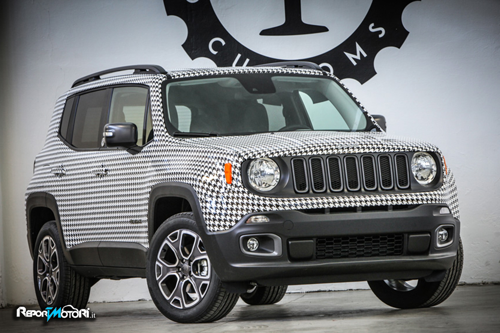Garage italia customs jeep renegade for Garage jeep poitiers