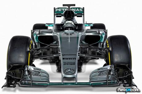 Mercedes Benz F1 W07 Hybrid