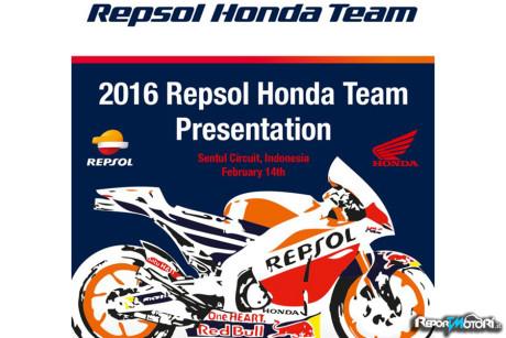 Team Repsol Honda MotoGP 2016