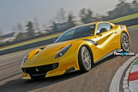 Ferrari f12tdf Top Gear
