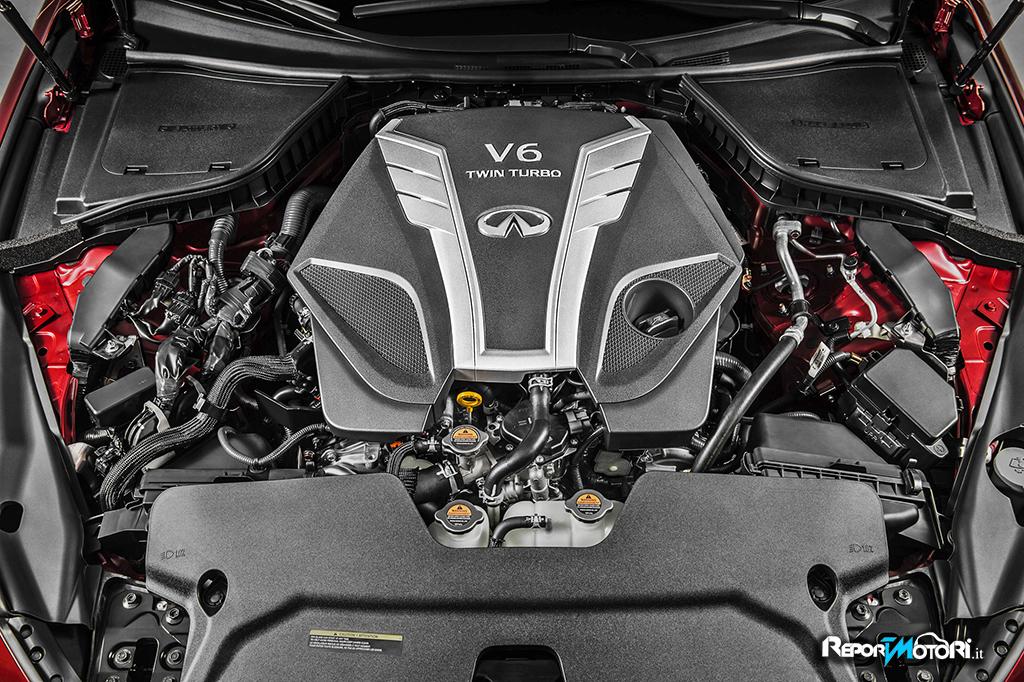Infiniti twin-turbo V6