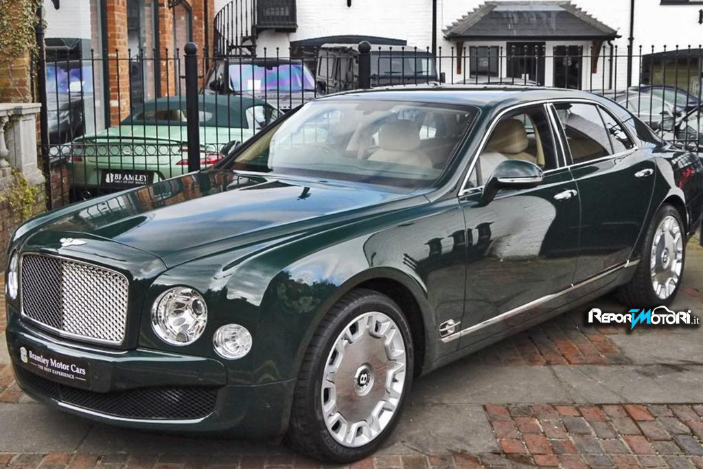 Bentley Mulsanne : la regina !