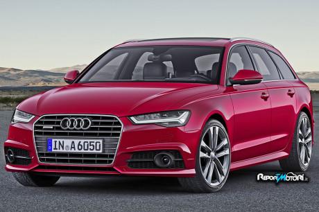 Audi A6 model year 2017
