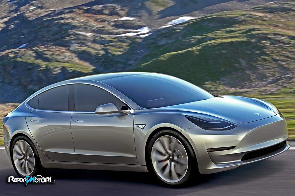Tesla Model 3 : il futuro è presente !