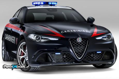 Alfa Romeo Giulia Quadrifoglio Arma dei Carabinieri
