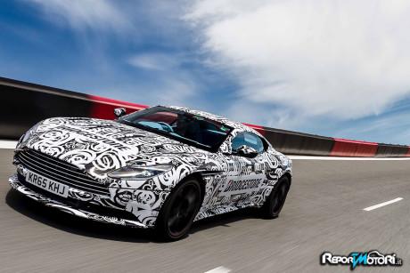 Bridgestone su Aston Martin DB11